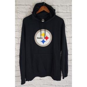 Pittsburgh Steelers NFL Team Apparel Hoodie, XL